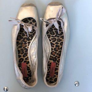 Nordstrom Boutique ballet flats leather sz 8
